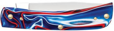 Zippo Patriotic Kirinite Smooth Sodbuster zsebkés, Z50510