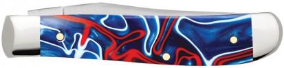 Zippo Patriotic Kirinite Smooth Trapper Mini zsebkés, Z50508