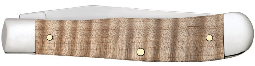Zippo Natural Curly Maple Wood Trapper zsebkés, Z50604