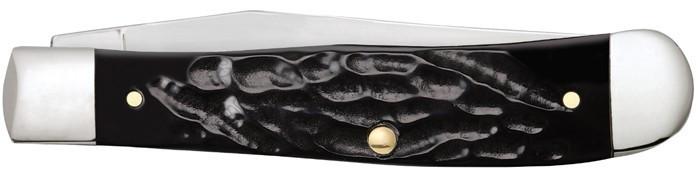 ZippoRough Black Synthetic Trapper zsebkés, Z50571