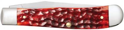 Zippo Chestnut Bone Standard Jigged Trapper zsebkés, Z50562