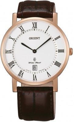 Orient Classic férfi karóra, FGW0100EW0, Elegáns, Kvarc, Bőr