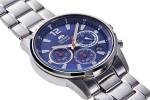 Orient Sporty Chronograph férfi karóra, RA-KV0002L10B, Sportos, Kvarc, Nemesacél