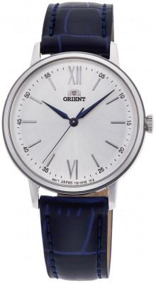 Orient Contemporary Quartz női karóra, RA-QC1705S10B, Elegáns, Kvarc, Bőr