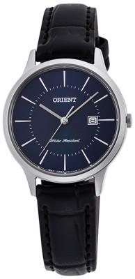Orient Contemporary Quartz női karóra, RF-QA0005L10B, Klasszikus, Kvarc, Bőr