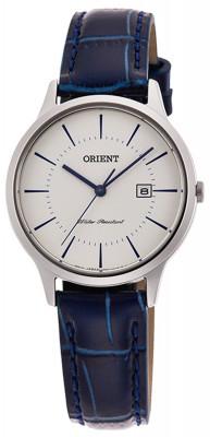 Orient Contemporary Quartz női karóra, RF-QA0006S10B, Klasszikus, Kvarc, Bőr
