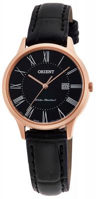 Orient Contemporary Quartz női karóra, RF-QA0007B10B, Klasszikus, Kvarc, Bőr