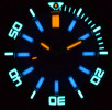 Deep Blue Daynight Scuba Automatic Tritium T-100 férfi karóra, DNSCUBASW200DARKBLUE, Búvár, Kvarc, Nemesacél