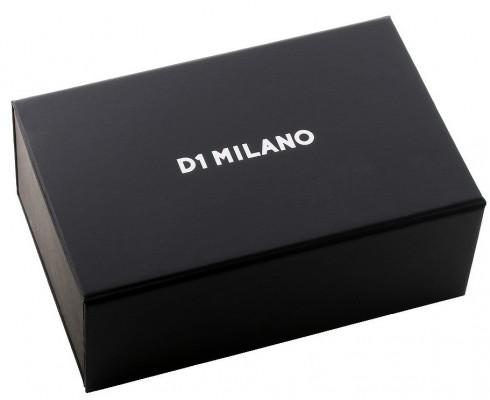 D1 Milano Skeleton Automatic férfi karóra, SKRJ03, Divatos, Automata, Szilikon