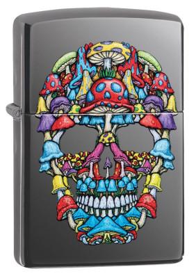 Zippo Skull Design Black Ice ® öngyújtó, Z49135