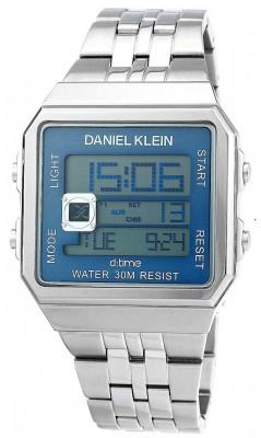 Daniel Klein D:Time férfi karóra, DK.1.12274.3, Divatos, Digitális, Nemesacél