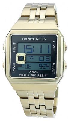 Daniel Klein D:Time férfi karóra, DK.1.12274.6, Divatos, Digitális, Nemesacél
