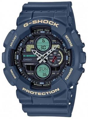 Casio G-Shock férfi karóra, GA-140-2AER, Sportos, Ana-digi, Műanyag