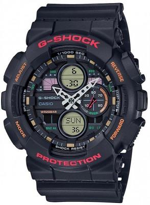 Casio G-Shock férfi karóra, GA-140-1A4ER, Sportos, Ana-digi, Műanyag