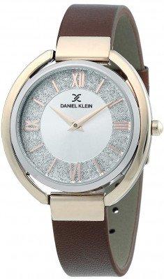 Daniel Klein Premium női karóra, DK.1.12289-3, Divatos, Kvarc, Bőr