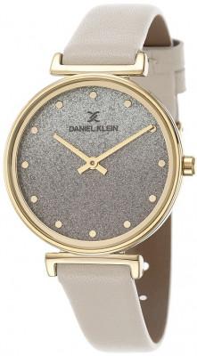 Daniel Klein Premium női karóra, DK.1.12432-2, Divatos, Kvarc, Bőr