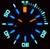 Deep Blue Daynight Scuba Automatic Tritium T-100 férfi karóra, DNSCUBASW200WHITE, Búvár, Automata, Nemesacél