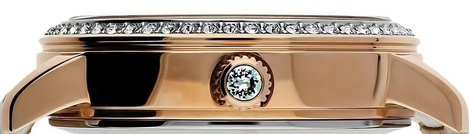 Orient Lady Swarovski Automatic női karóra, RA-AK0005Y10B, Elegáns, Automata, Bőr