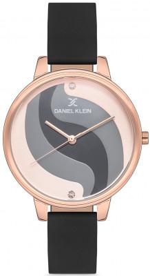 Daniel Klein Trendy női karóra, DK.1.12559.1, Divatos, Kvarc, Bőr
