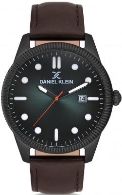 Daniel Klein Premium férfi karóra, DK.1.12575.5, Divatos, Kvarc, Bőr