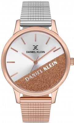 Daniel Klein Trendy női karóra, DK.1.12628.2, Divatos, Kvarc, Nemesacél