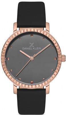 Daniel Klein Premium női karóra, DK.1.12533.5, Divatos, Kvarc, Bőr