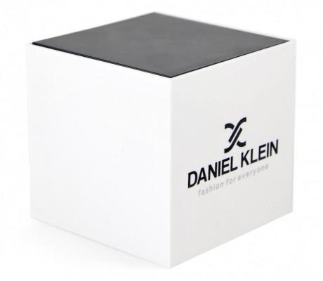 Daniel Klein Premium férfi karóra, DK.1.12587.3, Divatos, Kvarc, Bőr