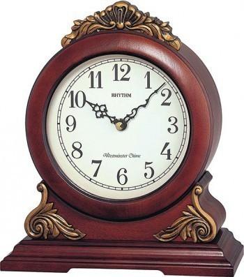 Rhythm asztali-kandalló óra, CRH114FR06, Kvarc