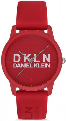 Daniel Klein Dkln női karóra, DK.1.12645-2, Sportos, Kvarc, Szilikon