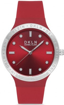 Daniel Klein Dkln női karóra, DK.1.12644-5, Sportos, Kvarc, Szilikon