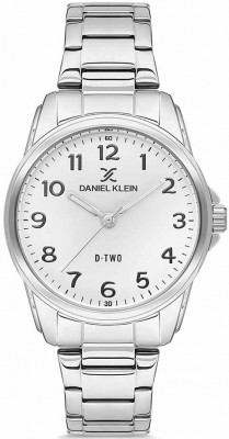 Daniel Klein D-Two női karóra, DK.1.12621-1, Klasszikus, Kvarc, Fém