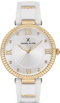 Daniel Klein Premium női karóra, DK.1.12646-4, Divatos, Kvarc, Szilikon