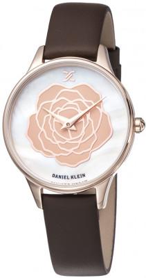 Daniel Klein Trendy női karóra, DK11812-2, Divatos, Kvarc, Bőr