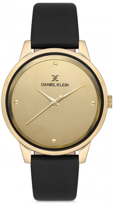 Daniel Klein Premium női karóra, DK.1.12685-3, Divatos, Kvarc, Bőr