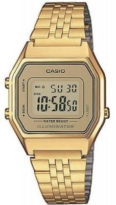 Casio Retro női karóra, LA680WEGA-9ER, Sportos, Digitális, Acél