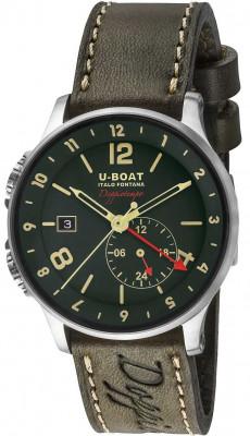 U-Boat Doppiotempo automatic GMT 43mm, 8500, Sportos, Automata, Bőr