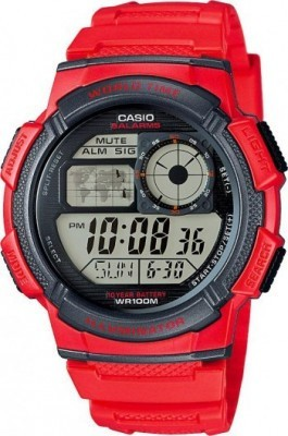 Casio férfi karóra, AE-1000W-4AVEF, Sportos, Digitális, Műanyag