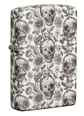 Zippo Skeleton Design Foszforeszkáló öngyújtó, Z49458