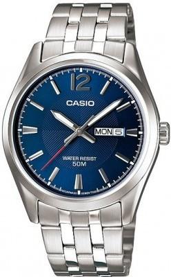 Casio Standard férfi karóra, MTP-1335D-2A, Klasszikus, Kvarc, Nemesacél