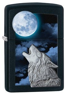 Zippo Wolf Howling At Moon öngyújtó, 28879