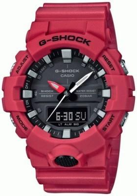 Casio G-Shock férfi karóra, GA 800-4AER, Sportos, Ana-digi, Szilikon