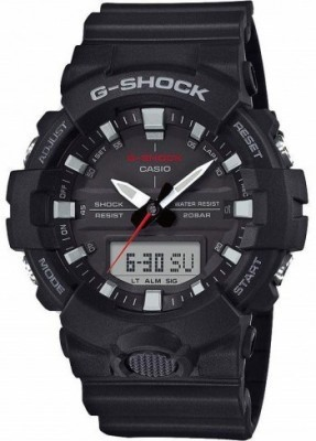 Casio G-Shock férfi karóra, GA 800-1AER, Sportos, Ana-digi, Szilikon