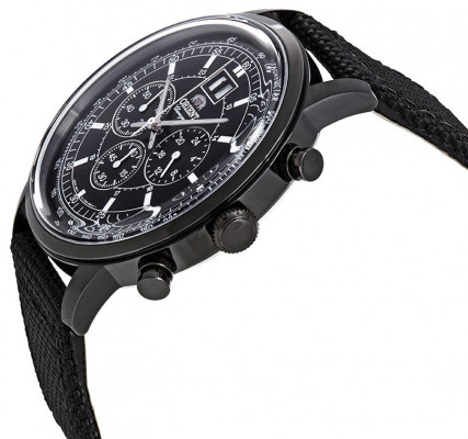 Orient Classic Big Date Chronograph férfi karóra, FTV02001B0, Sportos, Kvarc, Bőr