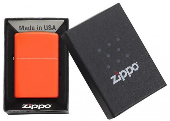 Zippo Neon Orange öngyújtó, Z28888