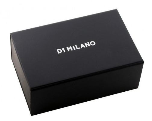 D1 Milano BlackAudax chrono férfi karóra, CHBJ08, Sportos, Kvarc, Nemesacél