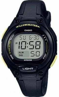 Casio Classic gyermek karóra, LW-203-1BVEF, Sportos, Digitális, Műanyag