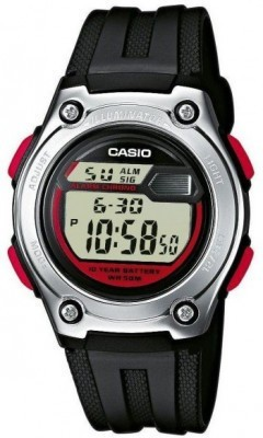 Casio Standard gyermek karóra, W-211-1B, Sportos, Digitális, Műanyag