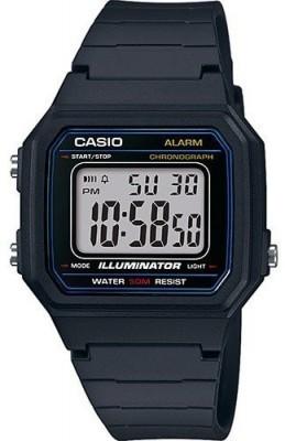 Casio Retro férfi karóra, W-217H-1AVEF, Sportos, Digitális, Műanyag