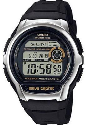 Casio Wave Ceptor férfi karóra, WV-M60-9AER, Sportos, Digitális, Műanyag