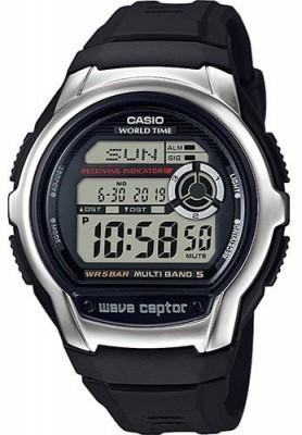 Casio Wave Ceptor férfi karóra, WV-M60-1AER, Sportos, Digitális, Műanyag